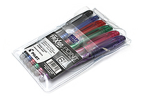 Pilot FriXion Point US Erasable Gel Pen - 0.5 mm - 6 Color Set - PILOT 46524