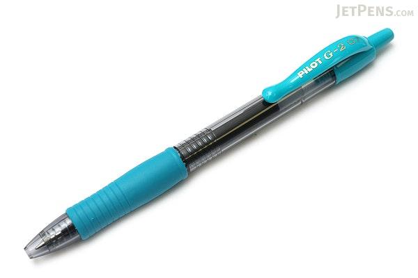 Pilot G2 Gel Pen - 0.7 mm - Turquoise - PILOT G27--TRQ-BC