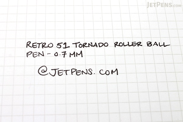 Retro 51 Tornado Fit for A Queen Rollerball Pen - 0.7 mm - Black Ink - RETRO 51 VRR-1362
