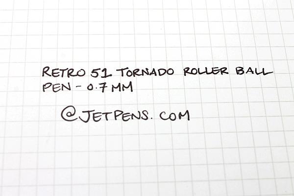 Retro 51 Tornado Fit for A King Rollerball Pen - 0.7 mm - Black Ink - RETRO 51 VRR-1363