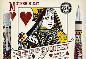 Mother's Day Retro 51 Queen of Hearts Roller Ball Pen Giveaway