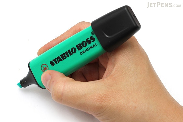 Stabilo Boss Original Highlighter Pen - Turquoise Blue - STABILO 70-51