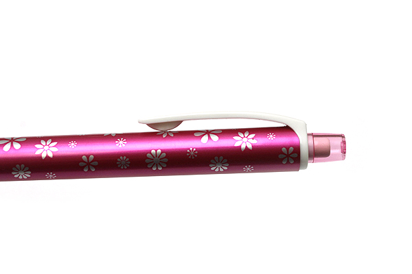 Uni Kuru Toga Auto Lead Rotation Mechanical Pencil Flower Collection - 0.5 mm - Rose Flower - Limited Edition - UNI M54501P.RF