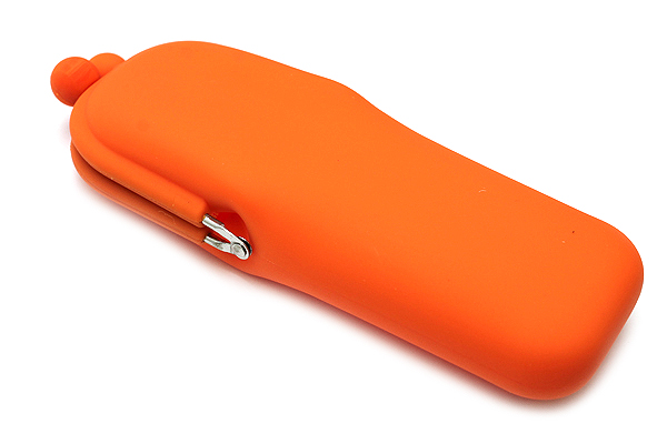 P+G Pochi Slim Silicone Pen Case - Orange - P+G POCHI SLIM OR