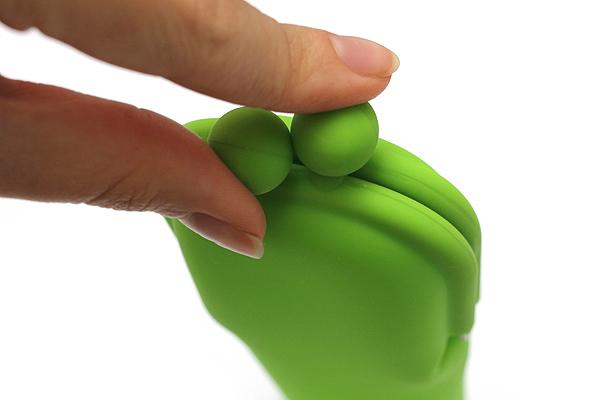 P+G Pochi Slim Silicone Pen Case - Green - P+G POCHI SLIM GR