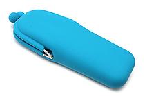 P+G Pochi Slim Silicone Pen Case - Blue - P+G POCHI SLIM BL