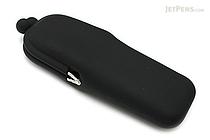 P+G Pochi Slim Silicone Pen Case - Black - P+G POCHI SLIM BK