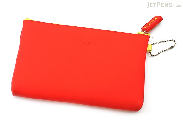 P+G Nuu Silicone Multi Pouch - Red - P+G NUU RD