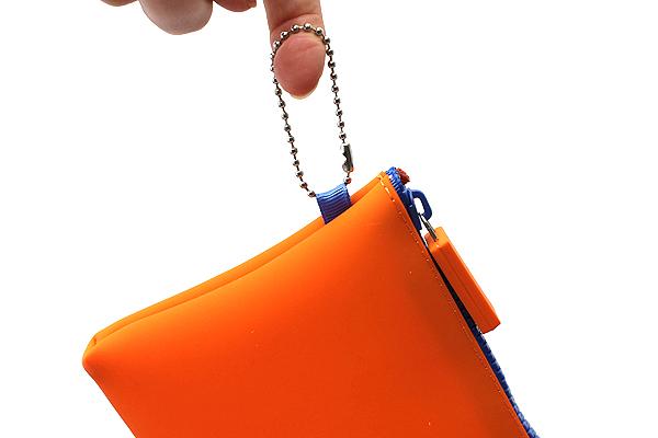 P+G Nuu Silicone Multi Pouch - Orange - P+G NUU OR