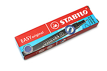 Stabilo EASYoriginal Rollerball Pen Refill - 0.5 mm - Blue Ink - Pack of 3 - STABILO SW6890-041