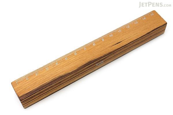 E+M Steel Matte-Brushed Clutch Lead Holder - 5.5 mm - Silver Body + Sharpener + Ruler - E+M 023-55
