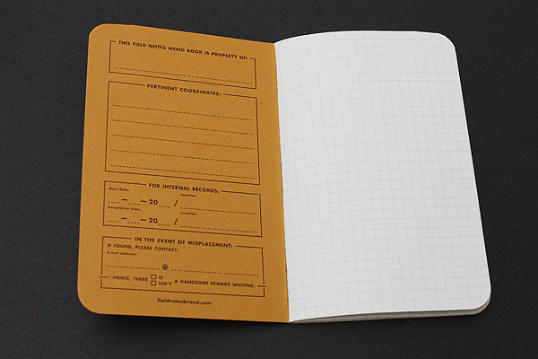 "Field Notes Color Cover Memo Book - National Crop Limited Edition - 3.5"" X 5.5"" - 48 Pages - 5 mm Graph - Pack of 6 - FEILD NOTES FNC-14"