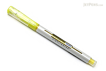 Monami Essenti Soft Highlighter Pen - Pastel Yellow - MONAMI ESSENTI SOFT YL