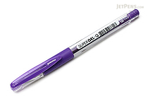 Monami Super Gel-Q Gel Pen - 0.4 mm - Purple - MONAMI SUPER GQ 04 PU