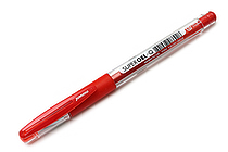 Monami Super Gel-Q Gel Pen - 0.4 mm - Red - MONAMI SUPER GQ 04 RD