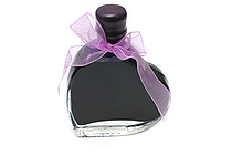 J. Herbin Fountain Pen Ink - 50 ml Heart-Shaped Bottle - Bleu Myosotis (Forget-Me-Not Blue) - J. HERBIN H152/15