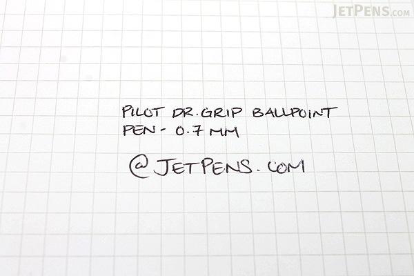 Pilot Dr. Grip G-Spec Frost Color Ballpoint Pen - 0.7 mm - Frost Blue Body - Black Ink - PILOT BDGS-60R RL