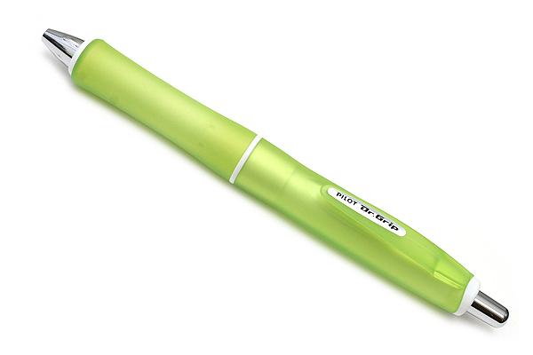 Pilot Dr. Grip G-Spec Frost Color Ballpoint Pen - 0.7 mm - Frost Green Body - Black Ink - PILOT BDGS-60R RG