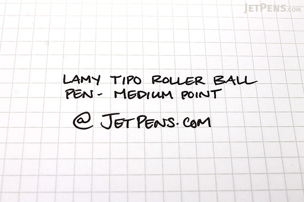 Lamy Tipo Rollerball Pen - Graphite Body - Medium Point - Black Ink - LAMY L337BK