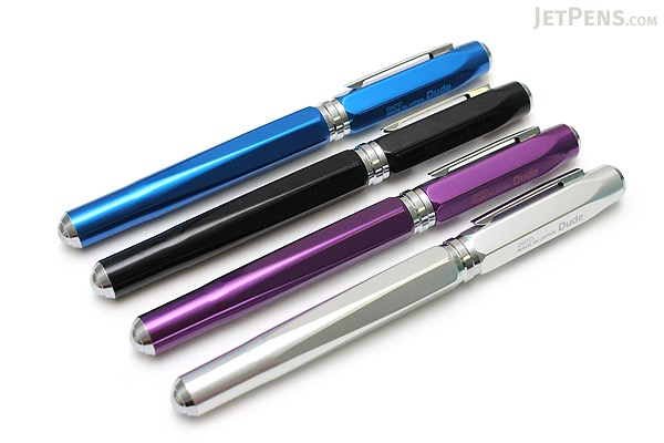 Ohto Dude Fountain Pen - Purple - Fine Nib - OHTO FF-15DD PURPLE