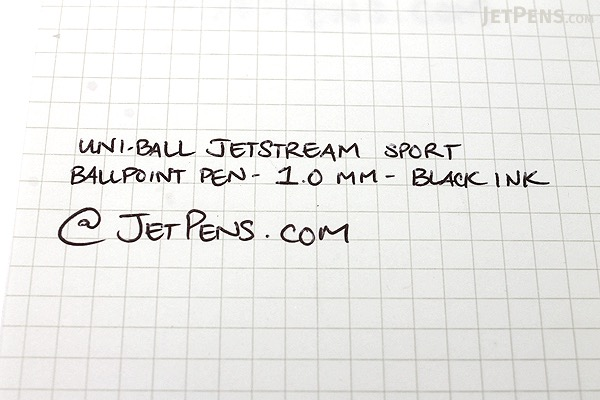 Uni-ball Jetstream Sport Ballpoint Pen - 1.0 mm - Black Body - Blue Ink - SANFORD 1738686