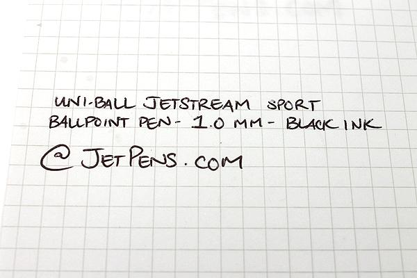 Uni-ball Jetstream Sport Ballpoint Pen - 1.0 mm - Black Body - Black Ink - SANFORD 1738685