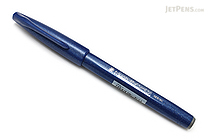 Pentel Fude Touch Brush Sign Pen - Blue - PENTEL SES15C-C