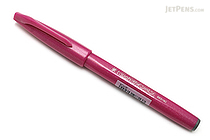 Pentel Fude Touch Brush Sign Pen - Pink - PENTEL SES15C-P