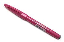 Pentel Fude Touch Sign Pen - Pink - PENTEL SES15C-P