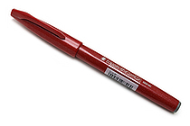 Pentel Fude Touch Sign Pen - Red - PENTEL SES15C-B