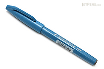 Pentel Fude Touch Brush Sign Pen - Sky Blue - PENTEL SES15C-S