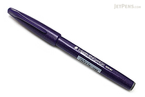 Pentel Fude Touch Brush Sign Pen - Violet - PENTEL SES15C-V