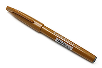 Pentel Fude Touch Sign Pen - Yellow Ochre - PENTEL SES15C-Y