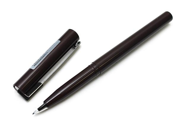 Pentel Pulaman JM20 Pen - Brown Body - Black Ink - PENTEL JM20-AD