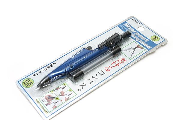 Kutsuwa Stad Compass with Mechanical Pencil 0.5 mm - Blue - KUTSUWA SP001BL