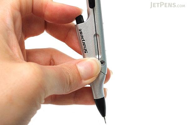 Kutsuwa Stad Compass with Mechanical Pencil 0.5 mm - Silver - KUTSUWA SP001SV