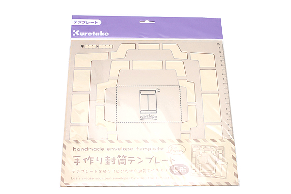 Kuretake Handmade Envelope Template - Japanese Version - KURETAKE SBTP12-20