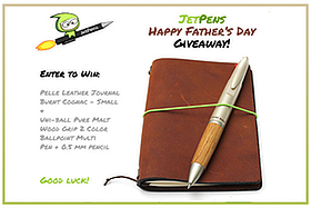 Win a JetPens Father's Day Prize Pack on Facebook