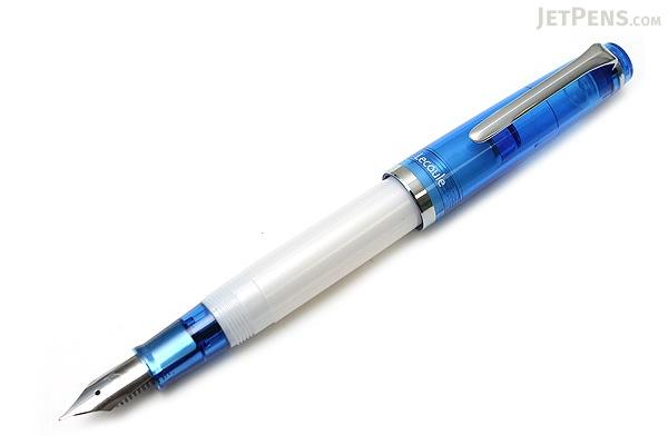 Sailor Lecoule Fountain Pen - Medium Fine Nib - Blue Body - SAILOR 11-0307-340