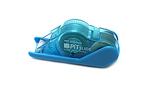 Tombow Pit Slide Adhesive Tape Roller - 8.4 mm X 8 m - Aqua Mint Blue - TOMBOW PN-SLS40
