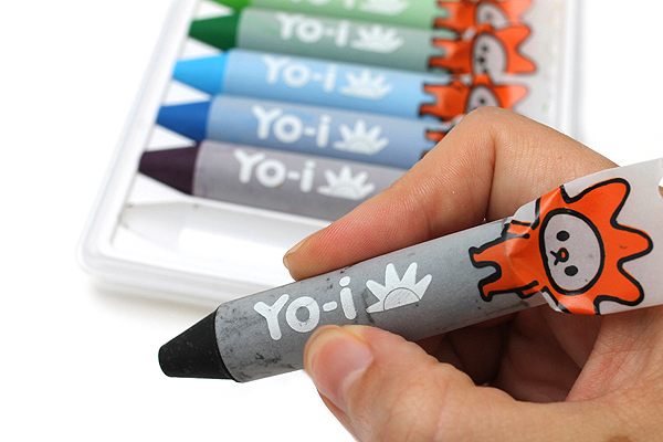 Tombow Yo-i Water Base Crayon - 12 Color Set - TOMBOW YN-RY12C