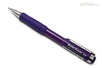 Pentel Twist-Erase III Mechanical Pencil - 0.5 mm - Violet Body - PENTEL QE515V