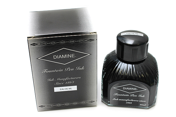 Diamine Fountain Pen Ink - 80 ml - Eau De Nil Blue (Teal) - DIAMINE INK 7093