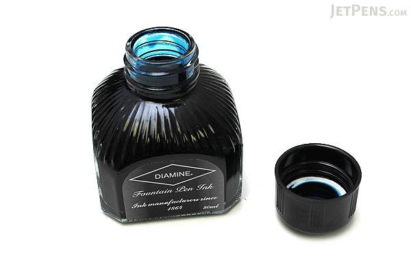 Diamine Eau De Nil Blue Ink - 80 ml Bottle - DIAMINE INK 7093