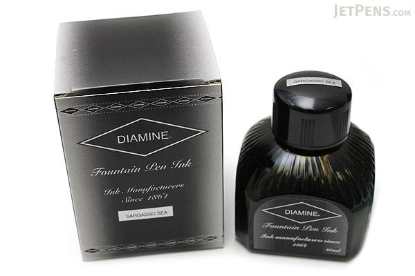 Diamine Sargasso Sea Ink - 80 ml Bottle - DIAMINE INK 7100