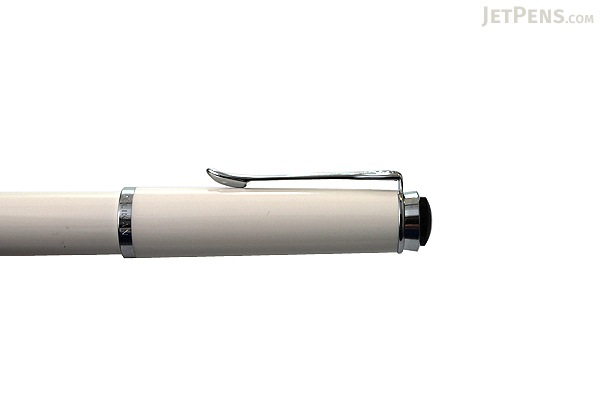 Pelikan M205 Traditional Fountain Pen - Piston Filler - Fine Nib - White Body - PELIKAN 976720