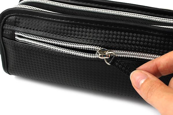 Nomadic PF-01 Carbonium Pen Case A - Black - NOMADIC PF-01 BLACK
