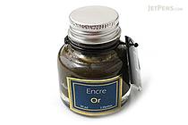 J. Herbin Gold Ink - Pigment - for Dip Pen - 30 ml Bottle - J. HERBIN H135/04