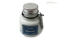 J. Herbin White Ink - Pigment - for Dip Pen - 30 ml Bottle - J. HERBIN H135/01