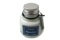 J. Herbin Dip Pen Pigmented Ink - 30 ml Bottle - White - J. HERBIN H135/01